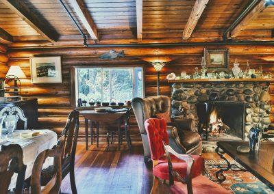 Cabin is set for Buffet Breakfast