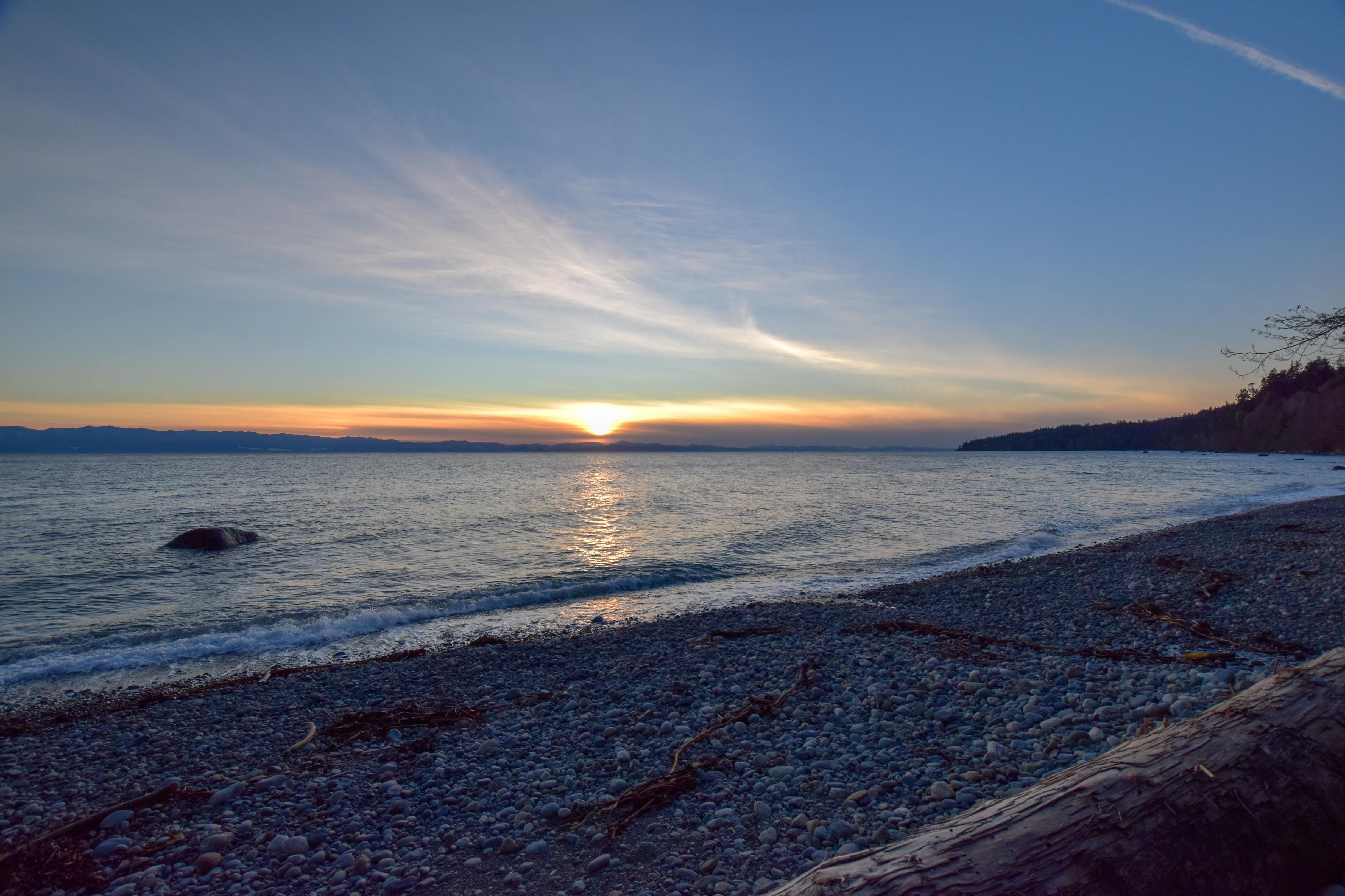 Sunset at Ocean Wilderness Beach