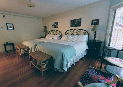 Two Queen Beds in Rain Forest Suite